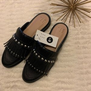 NWT A New Day Black Mules Size 6.5